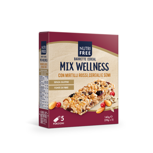 Nutrifree Barrette Cereal Mix Wellness 140g