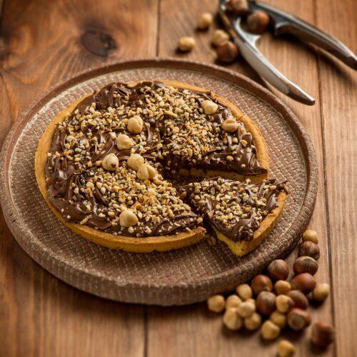 Crostata cioccolato nocciole